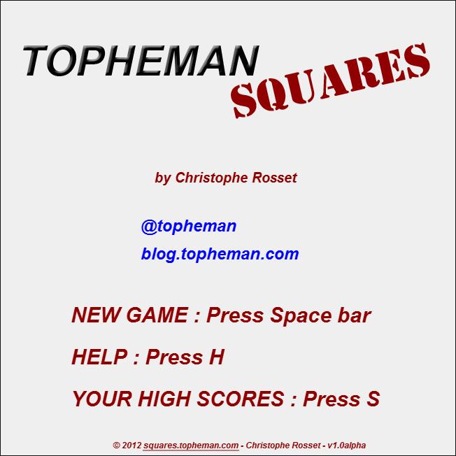 Topheman Squares - Screenshots